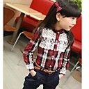 Fashion Style Factory have on sale Girl;s Stand Collar Lace Long Sleeve Grid Shirt. Our price US$ 51.99 Kids Apparel: ShirtsSeason: WinterLook After Me: Hand washTHICKNESS: MediumElasticity: InelasticFabric: CottonDetails: Belt Not Included, Without LiningTop Length: RegularSleeve Length: Long SleeveLength(cm): 100:42 110:45 120:48 130:51 140:54Shoulder Width(cm): 100:26.5 110:28 120:29.5 130:31 140:32.5Sleeve(cm): …