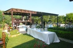 allestimento buffet country