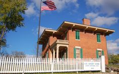 Visit a presidential site & tour the home of Ulysses S. Grant in Galena, Illinois! For more information visit the official website, Galena.org.