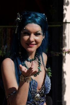 Moon the Mermaid at the 2012 Arizona Renaissance Festival