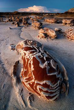 """""""DESERT PSYCHEDELIA"""" (Bisti Wilderness, NM)"""