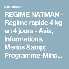 regime 4 jours pamplemousse