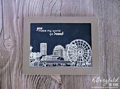 RBergfeld Card Designs: World Traveler - Altenew, Sketchy Cities America 2