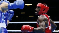 Serge Ambomo boxing against Yakup Sener of Turkey at the London 2012 Olympics.  London Olympics: Cameroon athletes 'abscond'.   Seven Cameroonian athletes have disappeared while in Britain for the Olympics, officials said.    David Ojong, the head of the Cameroon delegation, said five boxers, a swimmer and a female football player had been missing since the weekend.    The reason for their disappearance is not known, amid some reports that they wanted to stay in the UK for economic reasons.