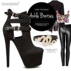 Love ankle booties... And the outfit #anklebooties