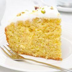 Orange Cake With Greek Yogurt Topping Recipe