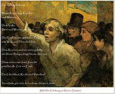 Bildgedicht Die Volkserhebung - Gedicht von Horst Bulla, dt. Freidenker, Dichter & Autor - - Gedichte - Zitate - Quotes - deutsch
