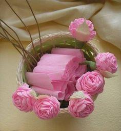 kağıttan çiçek nasıl yapılır resimli anlatım