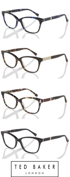 Classy but fashion glasses! By Ted Baker