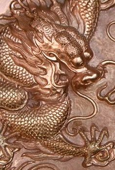 Chinese engraving carve sculpture chasing repousse by swarovskilighting, via Flickr
