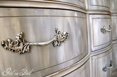 Country Grey, French Linen and Pure White Chalk Paint® Decorative Paint by Annie Sloan