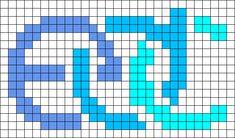 EDC Perler Bead Pattern / Bead Sprite