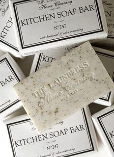 Just what I need--classy kitchen soap