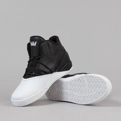 Supra Estaban Shoes - Black   White   White 73bc6a9dbd5