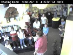 Willard Library capture. Very haunted place! If it is a live boy, why is he all grey while everyone else is in color?