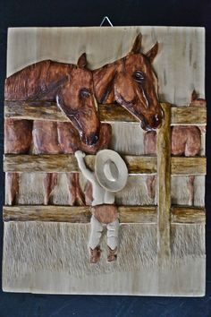 Chlapec a kone