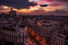 allthingseurope:  Madrid (by Alejandro Tejada)
