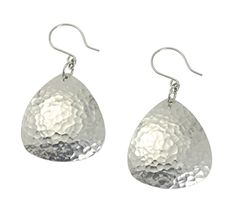 New Spectacular Hammered Aluminum Drop Earrings https://www.aluminum-jewelry.com/product/hammered-aluminum-drop-earrings Offered on #AluminumJewelry #FreeShipping