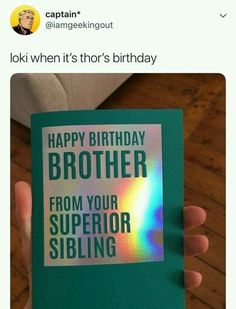Ideas Funny Happy Birthday Brother Humor Laughing For 2019 Birthday Quotes For Him, Birthday For Him, Funny Birthday Cards, Humor Birthday, Husband Birthday, Birthday Ideas, Birthday Nails, Diy Birthday, Birthday Parties