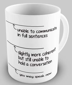 Funny You May Speak Now Coffee Mug.  I know a few people this would be great for!
