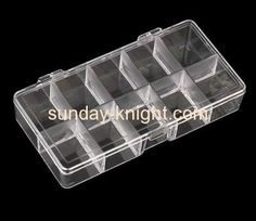 Acrylic jewelry boxes wholesale perspex display box displays for jewellery JDK-226