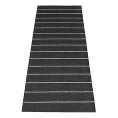 Linn ist ein neuer Kunststoffteppich von Pappelina, der im Frühling 2013 präsentiert wurde. Dieser Pappelina-Teppich hat ein schwarzes Design, das durch zarte, vanilleweiße Streifen bereichert wird, und damit dezent, aber keineswegs langweilig wirkt. Pappelina ist stolz darauf, diese hochwertigen Kunststoffteppiche nach traditioneller Methode in der hauseigenen Weberei in Mittelschweden herstellen zu können, und dafür auch lokal produzierte Kunststoff-Fasern verwenden zu können. Ein ...