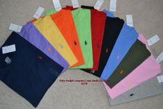 NWT Polo Ralph Lauren Men's Custom Fit Crew Neck T-Shirt Small Pony - Retail £65