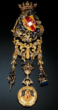 French Chatelaine with Watch