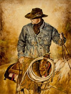 """Traditions""   Chris Owen Western Art Publishing"