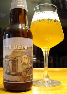 Petit Détour - Brasserie Dieu Du Ciel via craftbeerquebec.ca #dégustation…
