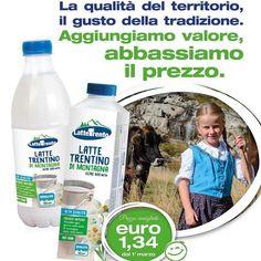 #Repost @lattetrento  #LatteTrento: il #valore di un prodotto #Trentino.  Aumentiamo il valore abbassiamo i prezzi.  #lattetrento #tivuolebene #qualitàtrentino #gustotrentino