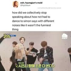 #nctmemes One Direction Videos, One Direction Humor, Direction Quotes, Lucas Nct, Funny Kpop Memes, Kid Memes, Nct Group, Nct Life, Entertainment