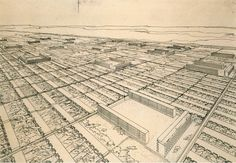 ludwig-hilberseimer-project-for-a-mixed-height-housing-development-of-row-houses-and-apartment-buildings-aerial-perspective-ca-1930-ink-on-paper-33-x-495-cm-jpeg.jpg (3476×2414)