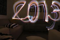 How to take pictures using glow sticks, sparklers, etc.