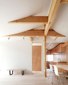 From exposed timber structure to that arresting curved ceiling (wow!), this house in Tokyo by @tomomi_kito oozes flair and simplicity, while achieving the complex brief of housing four generations under one roof. Photo by Satoshi Shigeta.  #Yellowtrace #YellowtraceArchitecture #YellowtraceResidential   https://www.yellowtrace.com.au/tokyo-house-for-four-generations-tomomi-kito-architects/