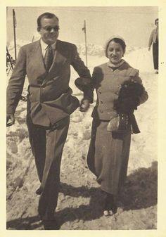 Antoine de Saint Exupéry con su mujer Consuelo 1931