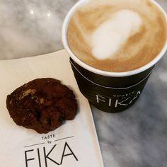 Coffee @fika with @themartareport #lazysunday #nyc #cafelatte #java #midtown #manhattan #nycfood #cafe #newyork_instagram #instamoment #eeeeeeats #food #food52