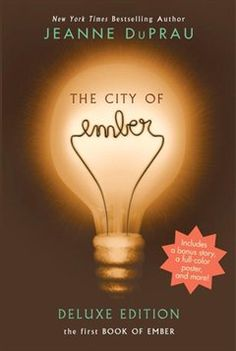 The City Of Ember - By Jeanne Duprau City Of Ember Book, Library Association, Old Fan, Underground Cities, Lexile, Read Aloud, Bestselling Author, Book Worms, Childrens Books