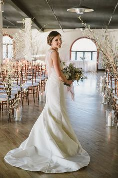 Winter bride: http://www.stylemepretty.com/little-black-book-blog/2014/10/20/cozy-winter-wedding-at-liberty-warehouse/ | Photography: Tory Williams - http://weddings.torywilliams.com/