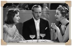 La Garbo demostró que no solamente estaba preparada para interpretar escenas dramáticas... Ninotchska, en el Miércoles de Película