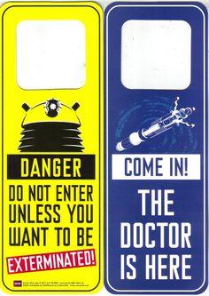 doctor who door hanger - Google Search