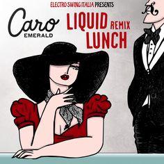 Caro Emerald - Liquid Lunch (E.S.I. Remix)  Stay Swing!  www.electroswingitalia.com Liquid Lunch, Electro Swing, Crazy Sister, Walking In The Rain, Emerald, Music Lyrics, Supreme, Musicians, Sisters