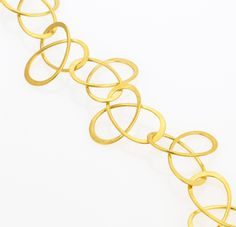 Goldlieben necklace by Kathrin Sattele