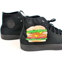 9150e165f6a9b Double Double Cheese Burger Fries and Coke Converse Chuck Taylor All...  ( 160
