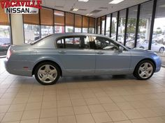 Light Blue 2006 Bentley Continental Flying Spur | Vacaville CA