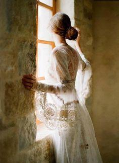 Claire Pettibone Couture Designer Dresses and Romantique Boho Dresses Claire Pettibone, Wedding Gowns, Lace Wedding, Dream Wedding, Wedding Vintage, Wedding Robe, French Wedding, Wedding Hair, Bridal Lace