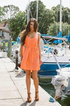 Perfectly Peach dress