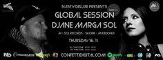 Marga Sole & Dj Nasty Deluxe  Confetti Digital  Global Radio Session