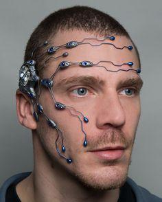 Amazing cyberpunk jewellery for men