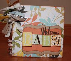 DIY Welcome Baby Mini Album Kit by MoreThanAMemoryAK on Etsy